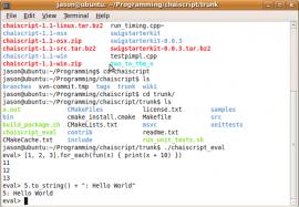 ChaiScript 5.5.1 发布,性能提升 30%