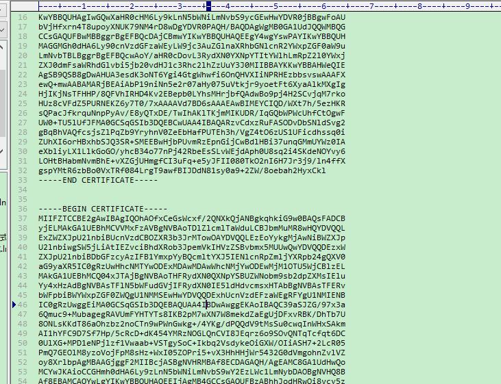 43 腾讯云免费SSL证书如何生成证书签名请求CSR?